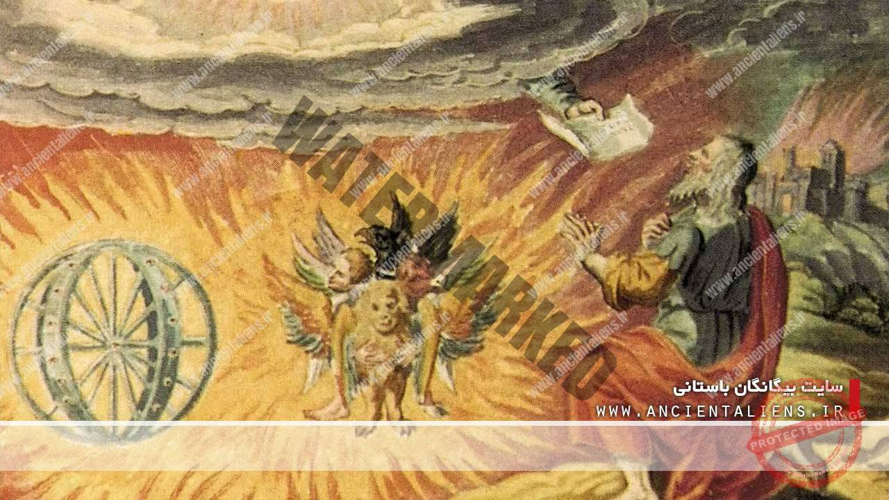 حزقیل و موجود بالدار چهار چهره