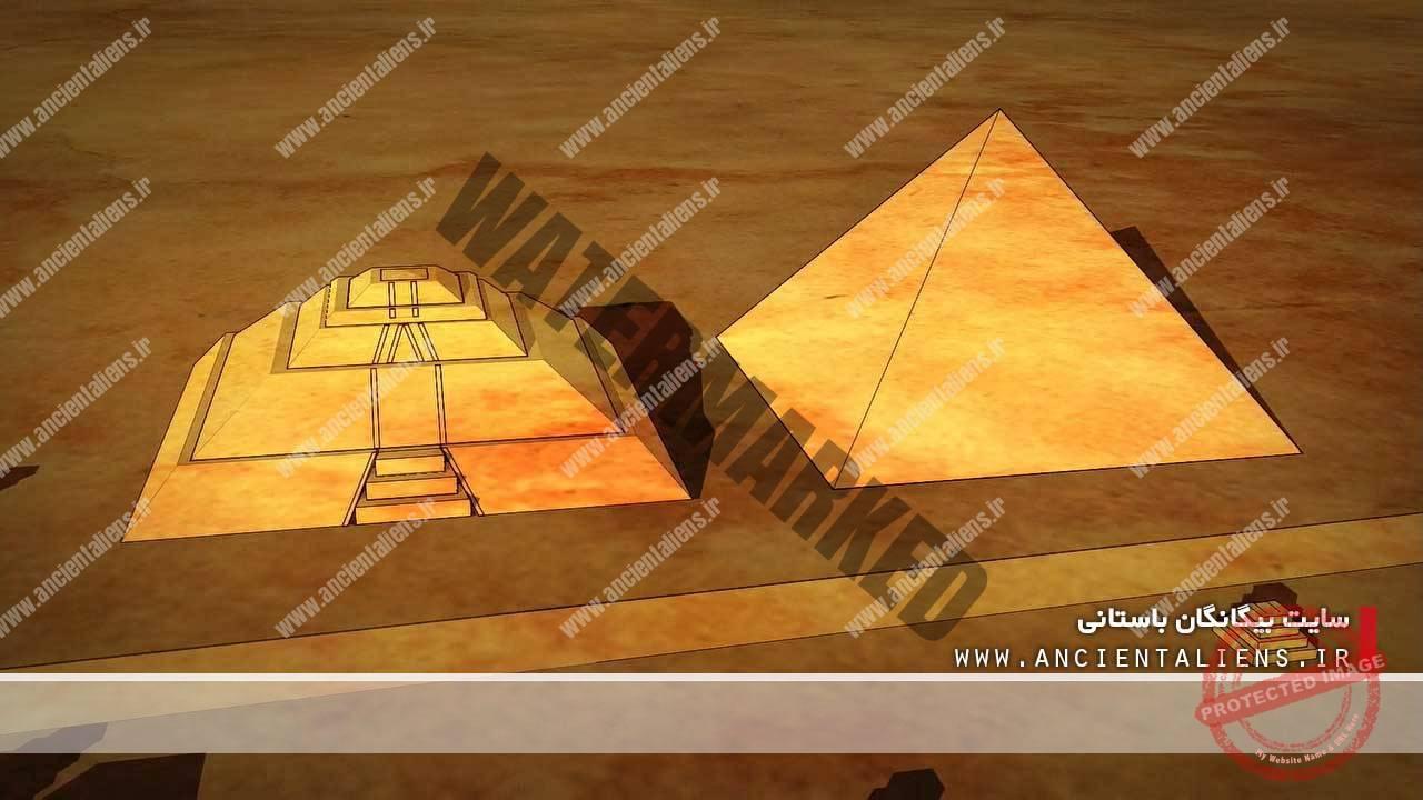 هرم جیزه در مصر و هرم خورشید در مکزیکو