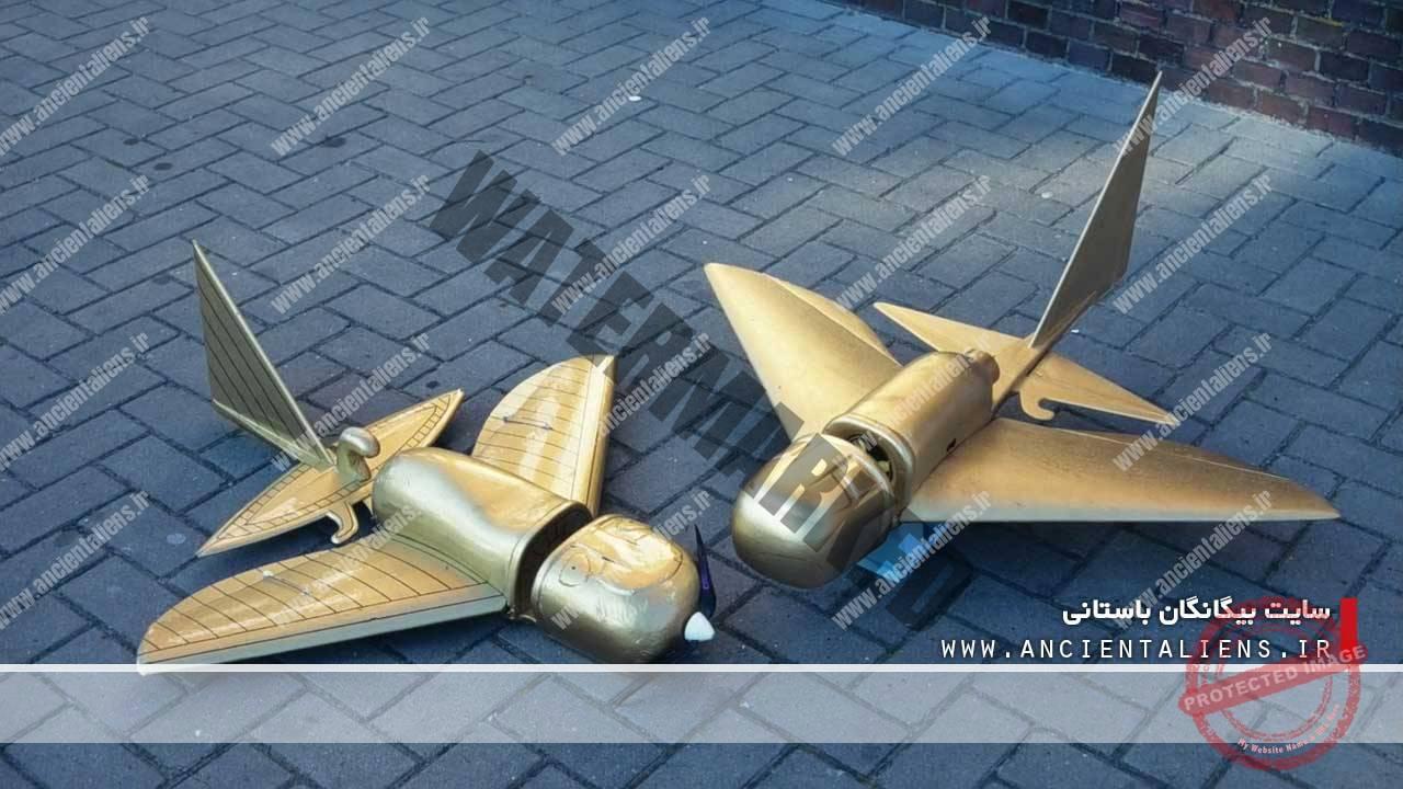 بازسازی هواپیمای باستانی