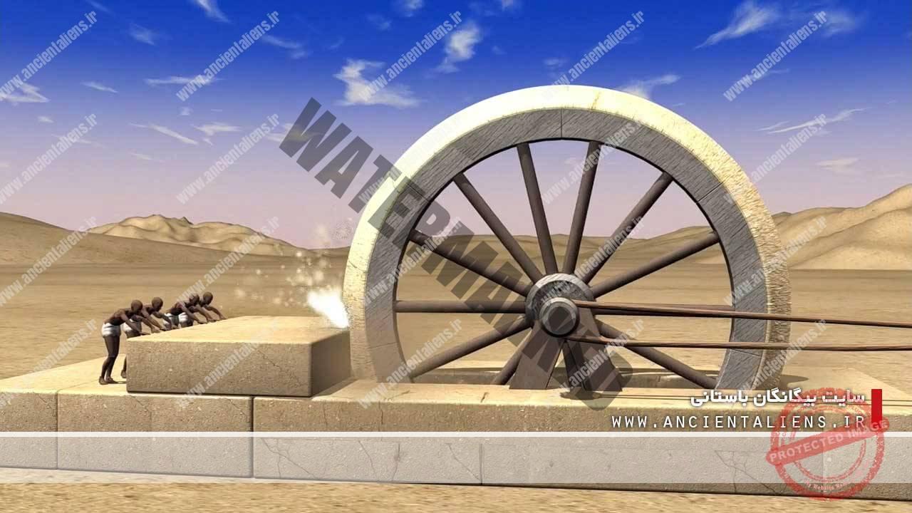 ارههای غولپیکر مصر باستان
