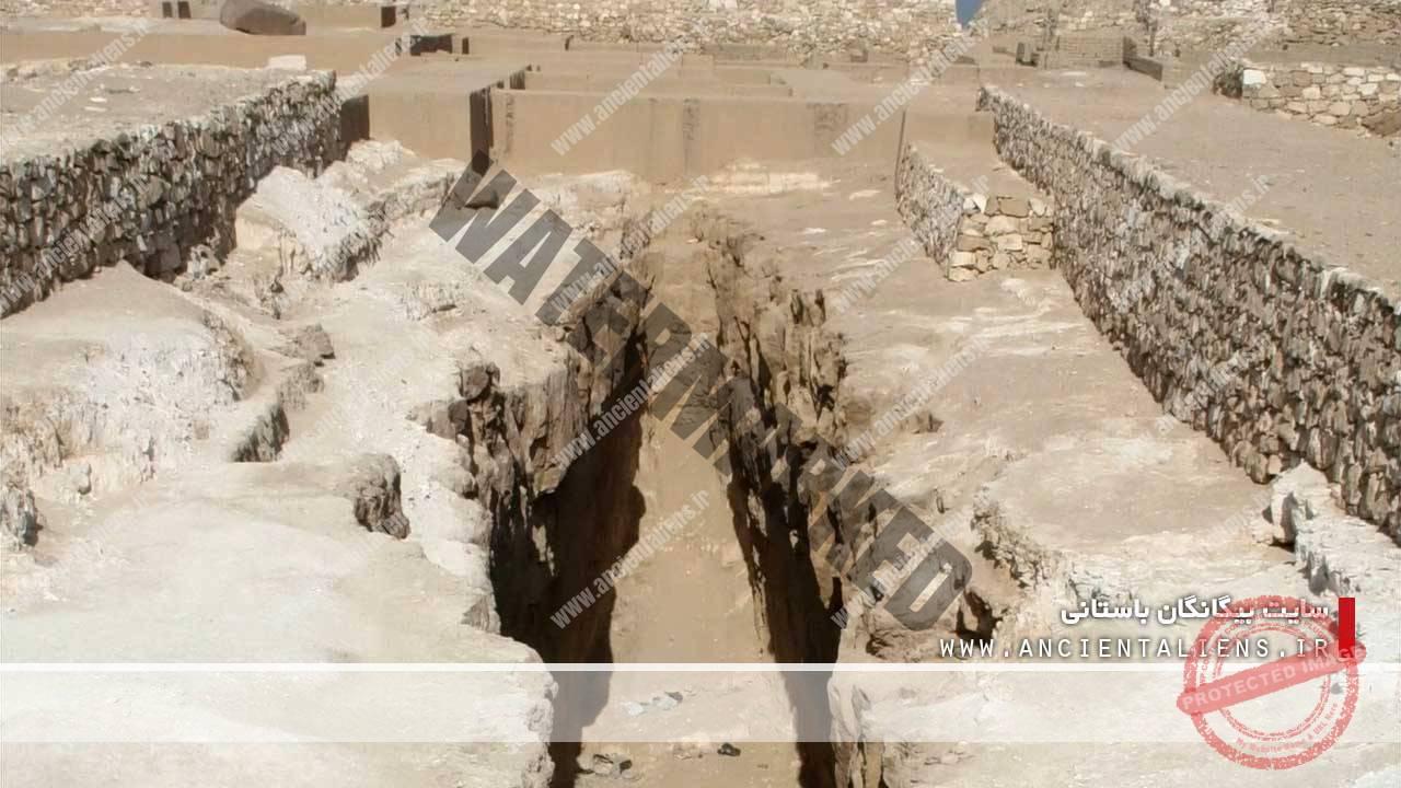 محل ابزار برش در مصر باستان