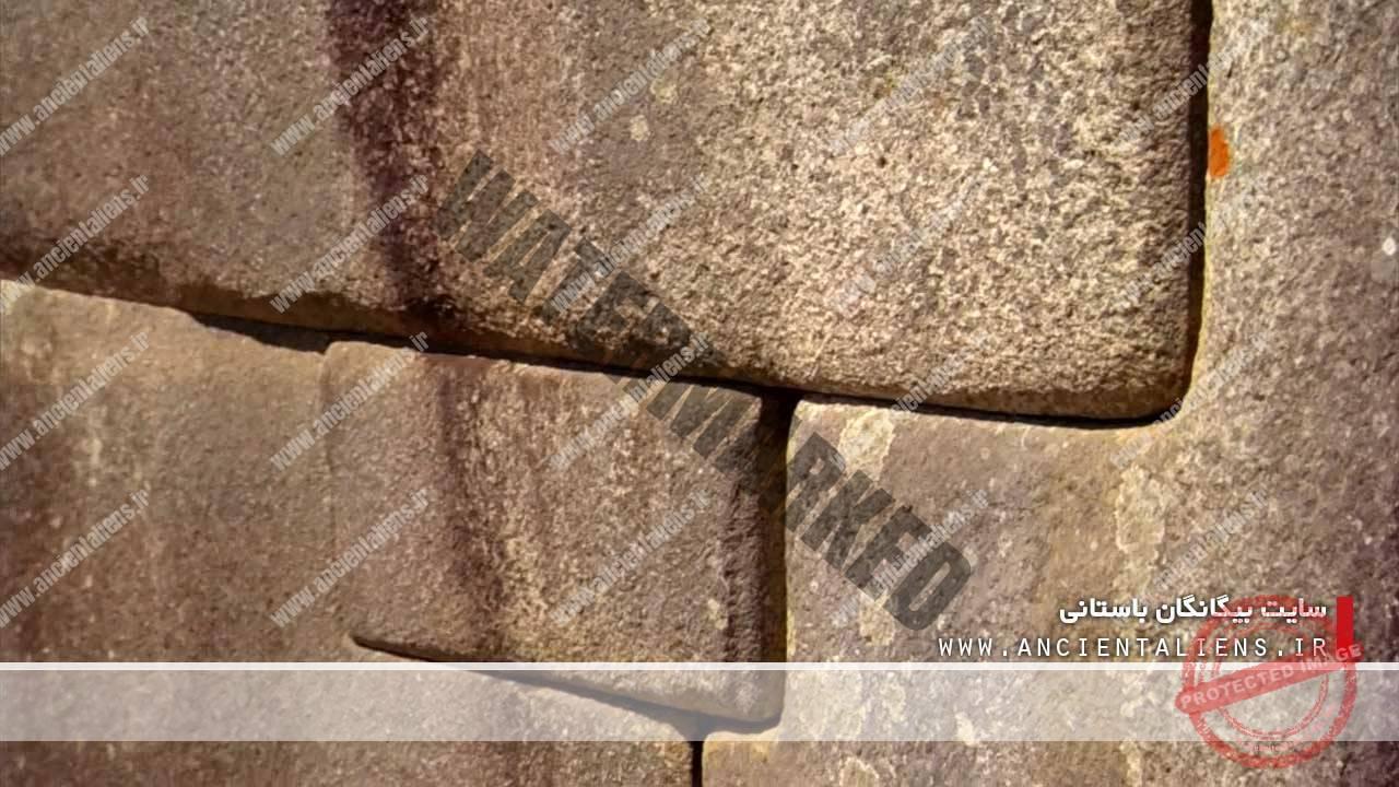 سنگهای ذوب شده ماچو پیچو