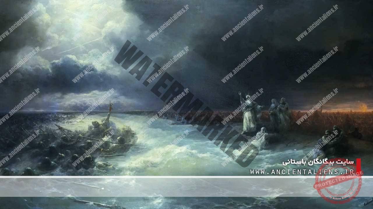عبور موسی و قوم یهود از دریا