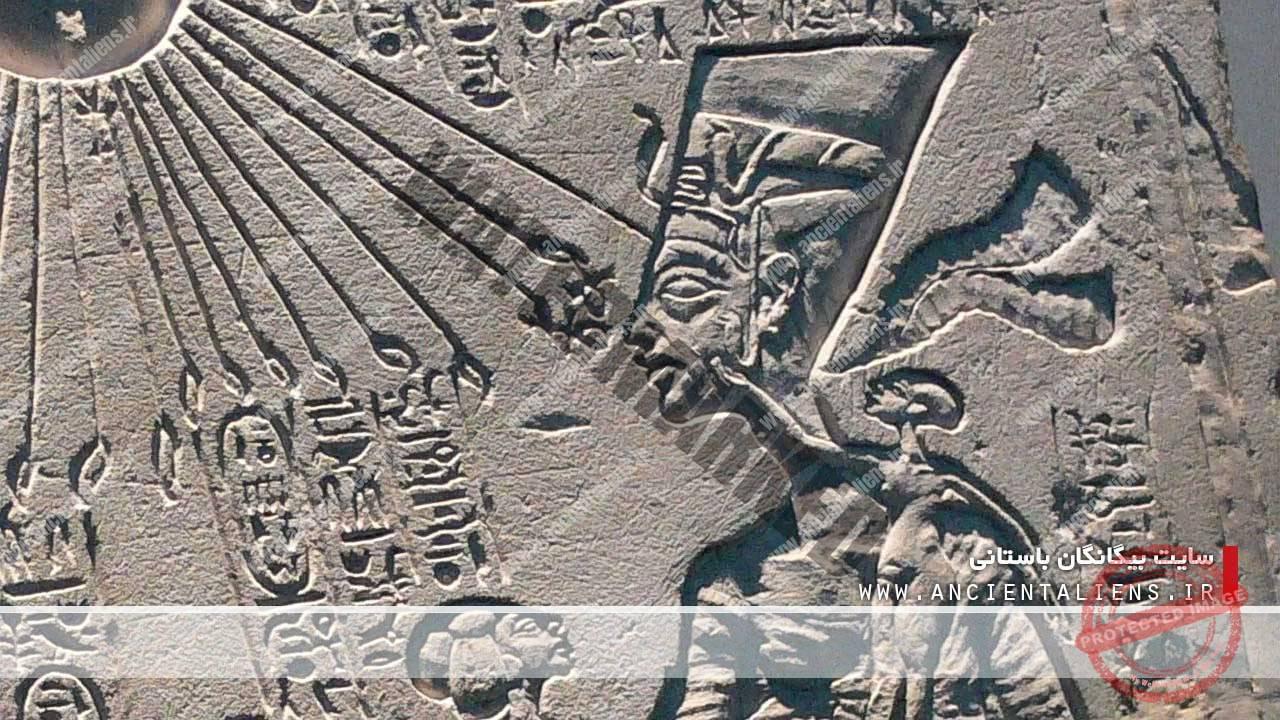ملکه نفرتیتی همسر آخناتن - مصر