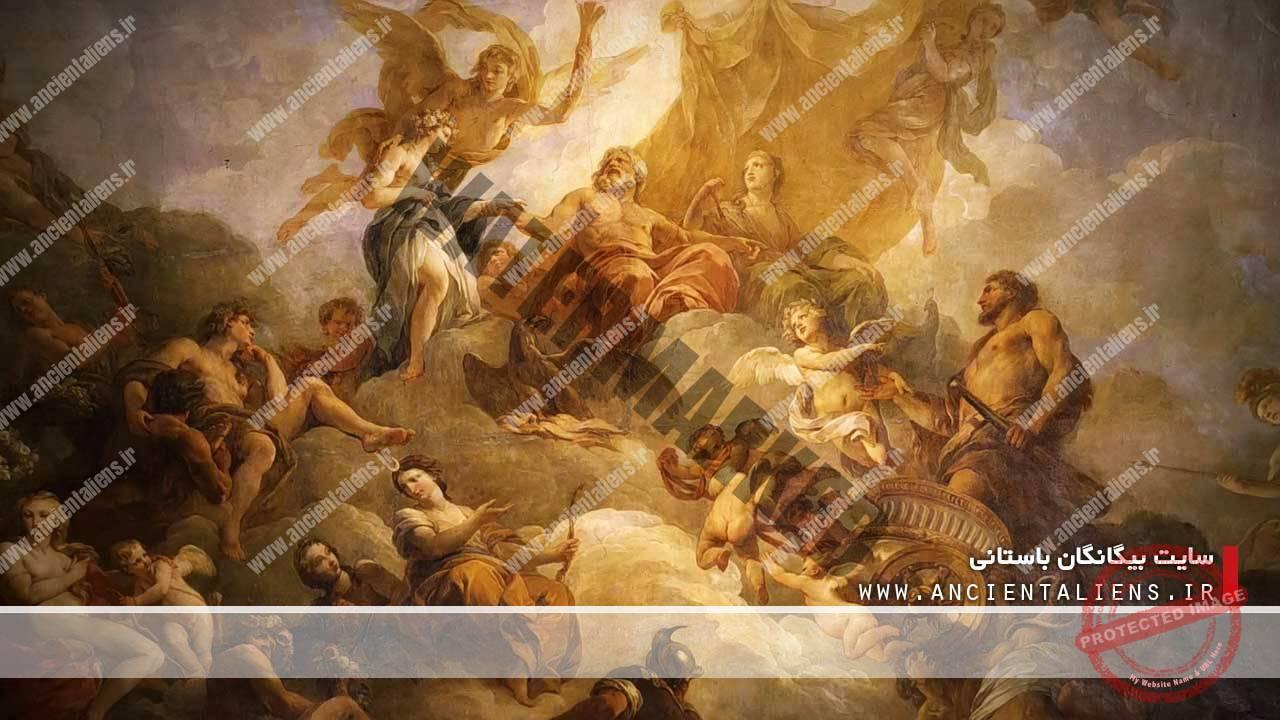 افسانههای یونان و خدایان روم