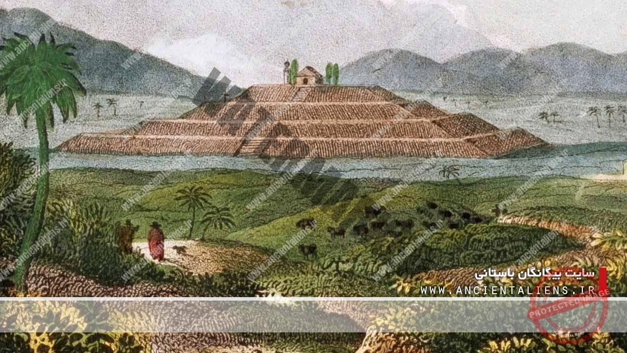 هرم چولولا در مکزیک