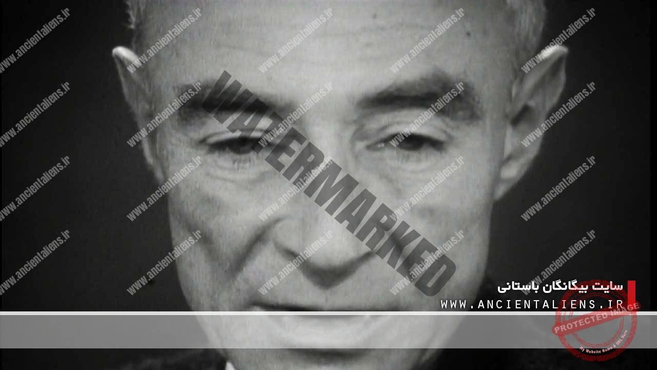 دکتر رابرت آپنهایمر، مخترع بمب اتم