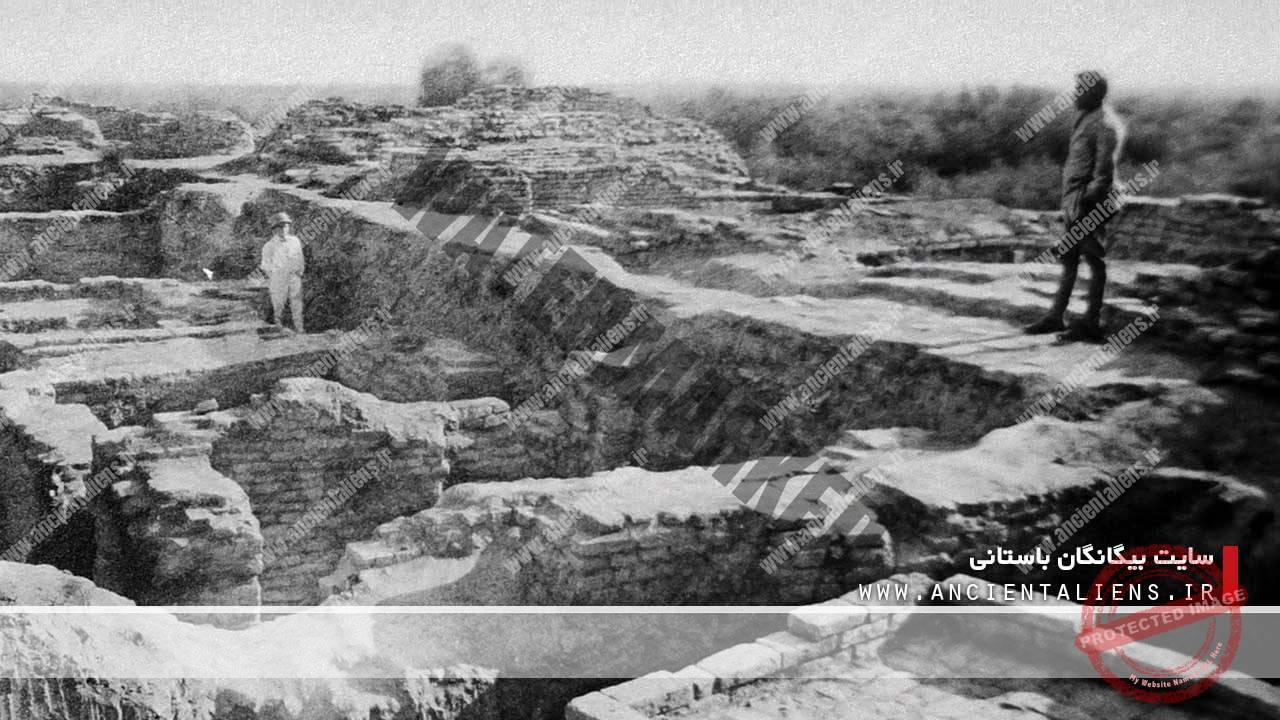 انفجار اتمی باستانی در موهنجو دارو، پاکستان