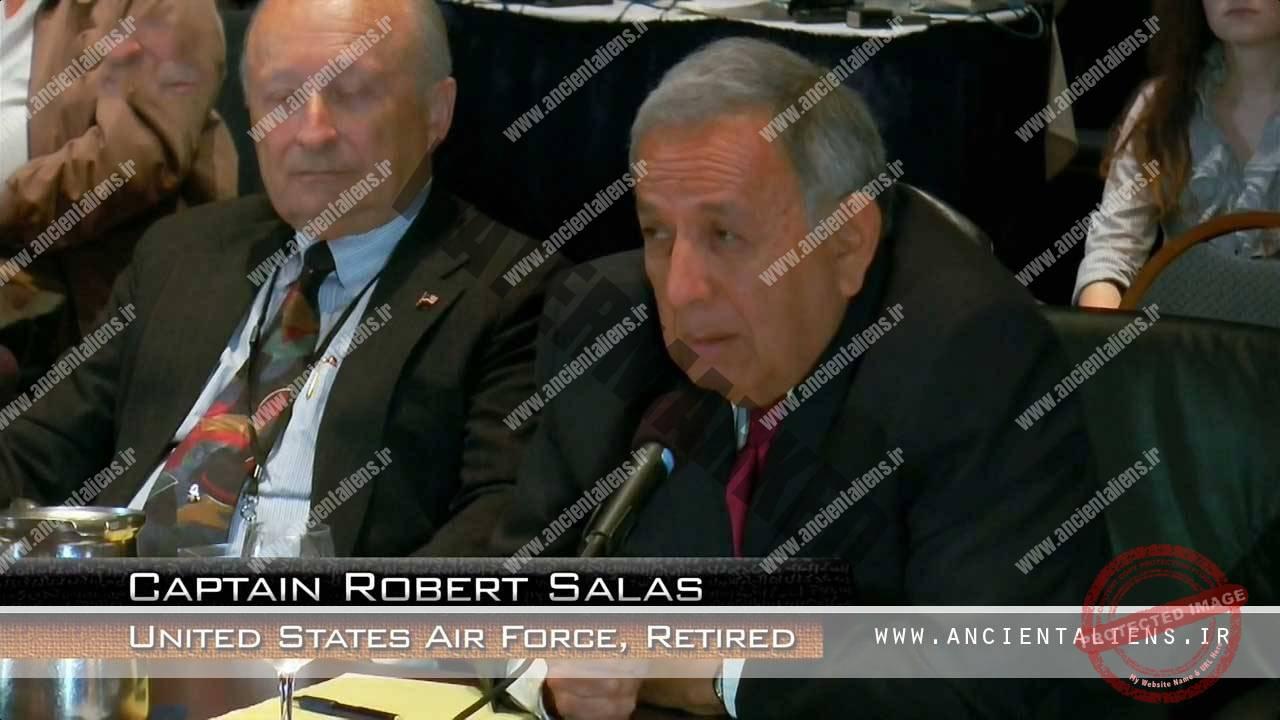 Captain Robert Salas