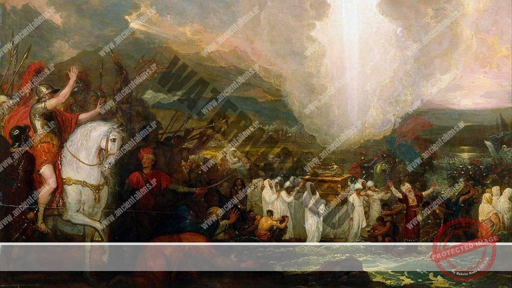 اسرار تابوت عهد و مشاهده یو.اف.او در اورشلیم