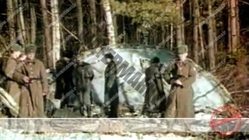 بازیابی بشقاب پرندههای سقوط کرده توسط ارتش روسیه